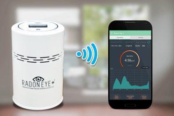 라돈아이플러스2 (BLE & Wi-Fi)