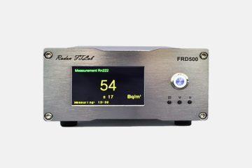 FRD500 : 신제품 라돈 자동 측정기